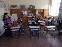 В очакване на изложбата - ОУ Св. Св. Кирил и Методий - Ряхово